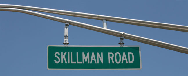 Skillman Road in Skillman, NJ