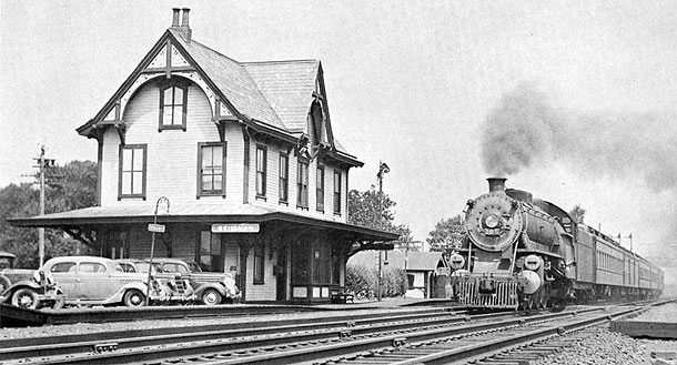 Train Station at Skillman, NJ