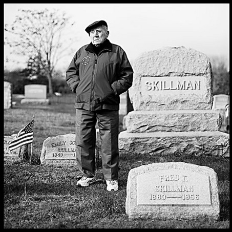 Thomas Stryker Skillman in family graveyard