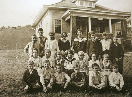 Thomas Stryker Skillman with classmate in 1922