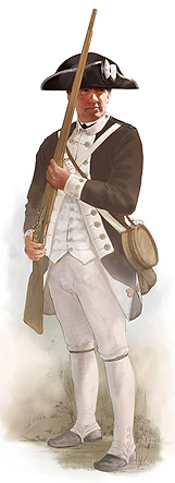 Revolutionary War US Soldier